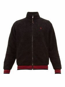 Polo Ralph Lauren - Vintage Fleece Track Top - Mens - Black
