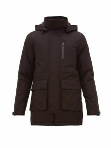 Nobis - Technical Hooded Parka Coat - Mens - Black