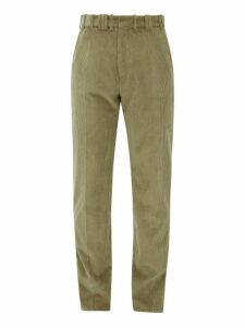 Y/project - Corduroy Cotton Trousers - Mens - Beige