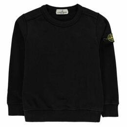 Stone Island Badge Sleeve Sweatshirt