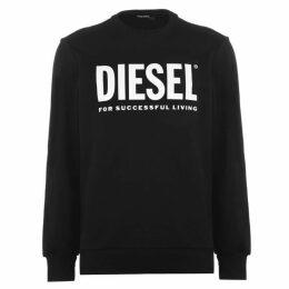 Diesel Jeans Diesel Text Logo Swt Sn00