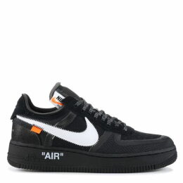 Nike Off White X Air Force 1 Low Black Trainer