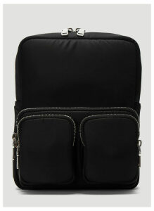 Prada Pocket Backpack in Black size One Size