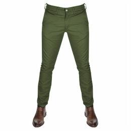 Edwin 55 Chino Trousers Green