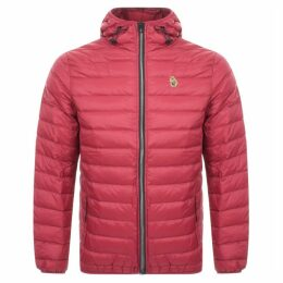 Luke 1977 Quilted Hooded Jacket Red