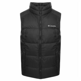 Columbia Pike Lake Logo Gilet Black