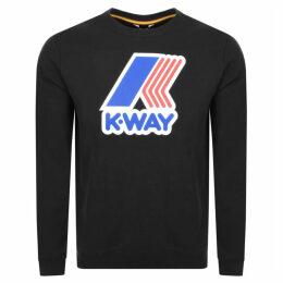 K Way Augustine Sweatshirt Black