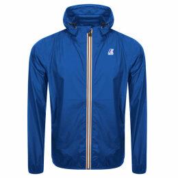 K Way Le Vrai 3.0 Claude Jacket Blue