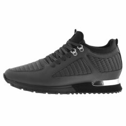Mallet Quilted Diver Trainers Black