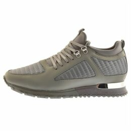 Mallet Quilted Diver Trainers Grey