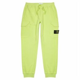 Stone Island Lime Cotton Sweatpants