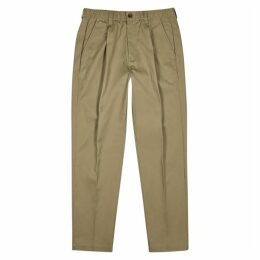 Saturdays NYC Varick Sage Cotton Trousers