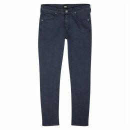 Paige Lennox Dark Blue Slim-leg Jeans