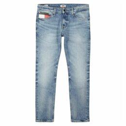 Tommy Jeans Light Blue Slim-leg Jeans