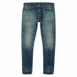 John Elliott The Cast 2 Blue Slim-leg Jeans
