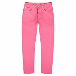 Helmut Lang Pink Straight-leg Jeans