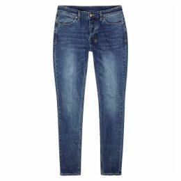 Ksubi Vanwinkle Blue Skinny Jeans