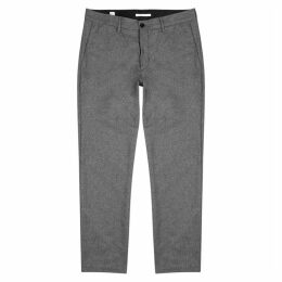 Norse Projects Aros Grey Wool-blend Trousers