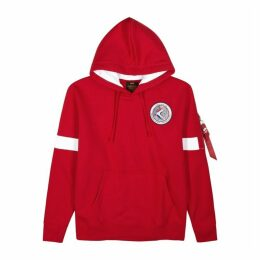Alpha Industries Apollo 15 Red Jersey Sweatshirt