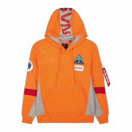 Alpha Industries Space Camp Orange Jersey Sweatshirt