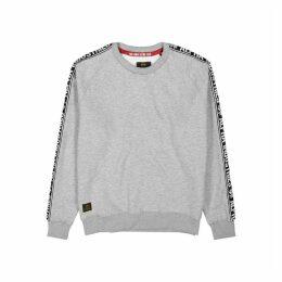 Alpha Industries Grey Mélange Jersey Sweatshirt