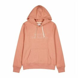 Saturdays NYC Ditch Miller Salmon Cotton Sweatshirt