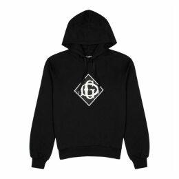 Dolce & Gabbana Black Logo Cotton-jersey Sweatshirt
