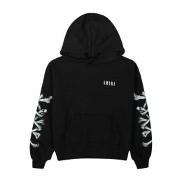 Amiri Black Printed Cotton Sweatshirt