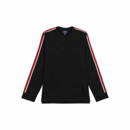 Polo Ralph Lauren Black Cotton-blend Sweatshirt