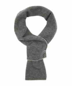 Cashmere Two Button Scarf
