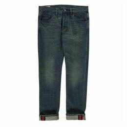 Gucci Web Slim Jeans