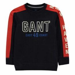 Gant Colour Block Sweatshirt