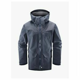 Haglöfs Grym Evo Men's Waterproof Jacket, Dense Blue