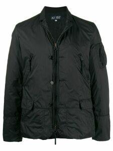 Giorgio Armani Pre-Owned 2000s windbreaker jacket - Black