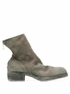 Guidi round toe boots - Grey
