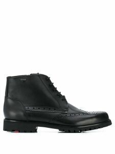 Lloyd perforated ankle boots - Black