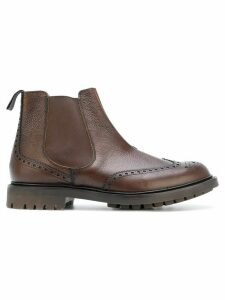 Church's brogue detail Chelsea boots - Brown