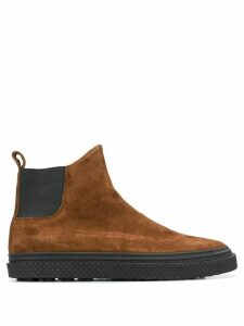 Buttero suede Chelsea boots - Brown
