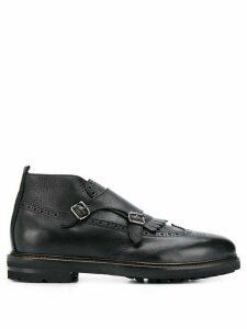 Henderson Baracco monk strap boots - Black