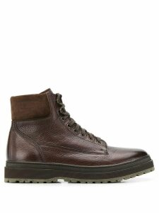 Henderson Baracco lace-up boots - Brown