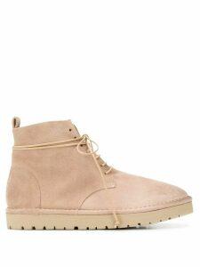 Marsèll Sancrispa lace-up ankle boots - Neutrals