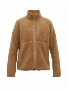 Snow Peak - Zip Through Technical Fleece Jacket - Mens - Khaki