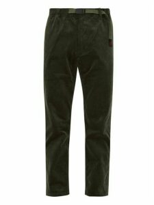 Gramicci - Cotton Blend Corduroy Trousers - Mens - Khaki