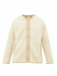 Gramicci - Boa Technical Fleece Bomber Jacket - Mens - Cream