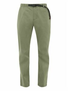 Gramicci - Whitney Stretch Cordura Belted Trousers - Mens - Green