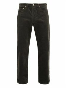 Acne Studios - 1996 Straight Leg Cotton Blend Corduroy Trousers - Mens - Grey