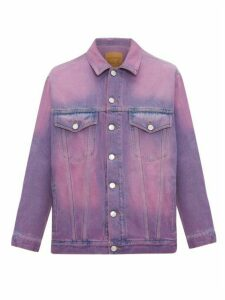 Martine Rose - Oversized Denim Jacket - Mens - Purple