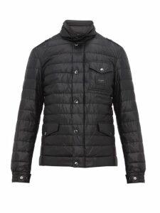 Dolce & Gabbana - Multi Pocket Quilted Down Field Jacket - Mens - Black