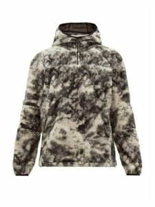 1017 Alyx 9sm - Marco Polar Half Zip Fleece Sweater - Mens - Black Multi