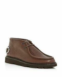 Salvatore Ferragamo Men's Terry Leather Chukka Boots